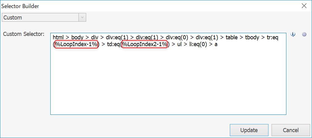 CSSセレクタに変数を埋め込み
