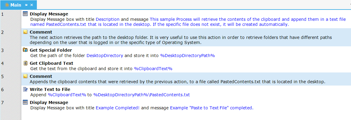 01 - Paste to Text File