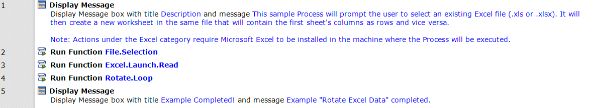 08 - Rotate Excel Data