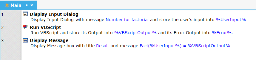 14 - Factorial of a Number using VBScript