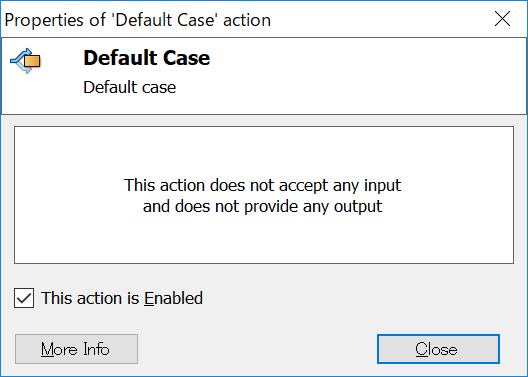 Default Case