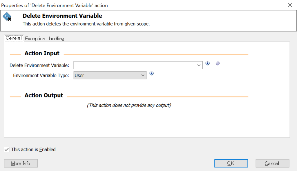 Delete Environment Variable