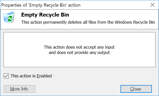 Empty Recycle Bin