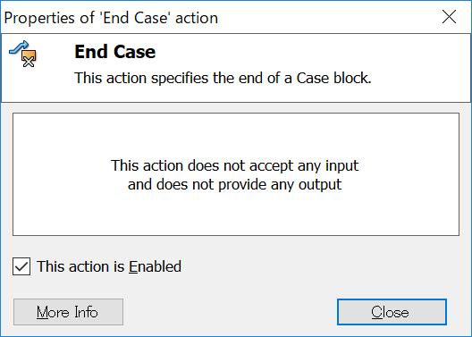 End Case