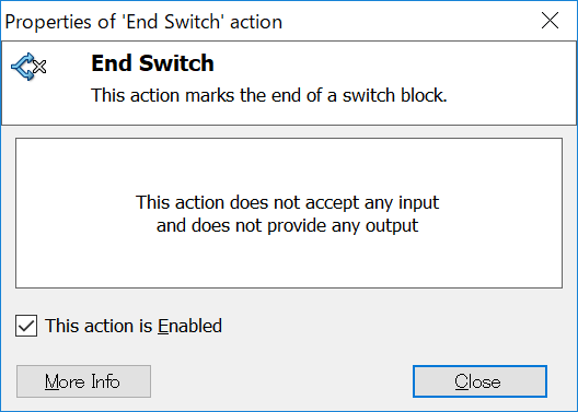End Switch
