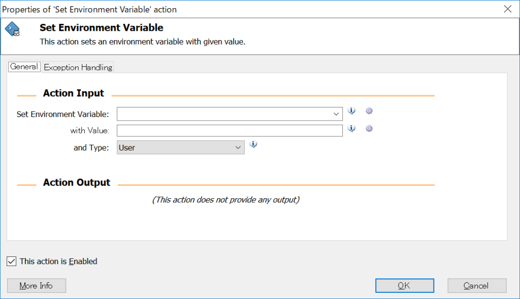 Set Environment Variable